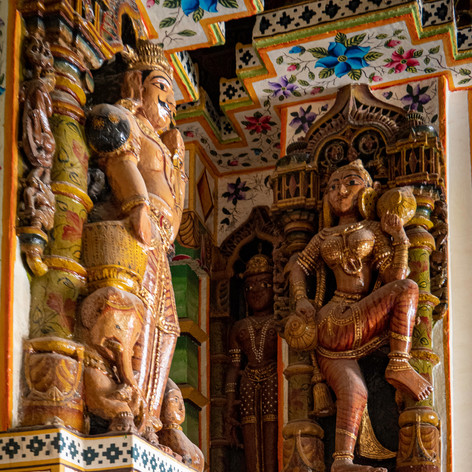 Bikaner Jain Temple Carvings