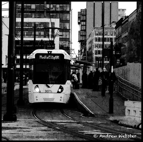 St Peter's Square Tram