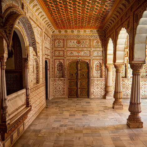 Bikaner Throne Court