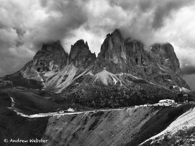 Passo Sella, Dolomites, Italy
