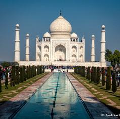 Taj Mahal Classic View