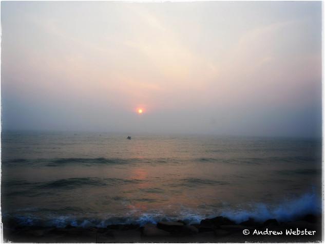 Bay of Bengal, Puducherry, India