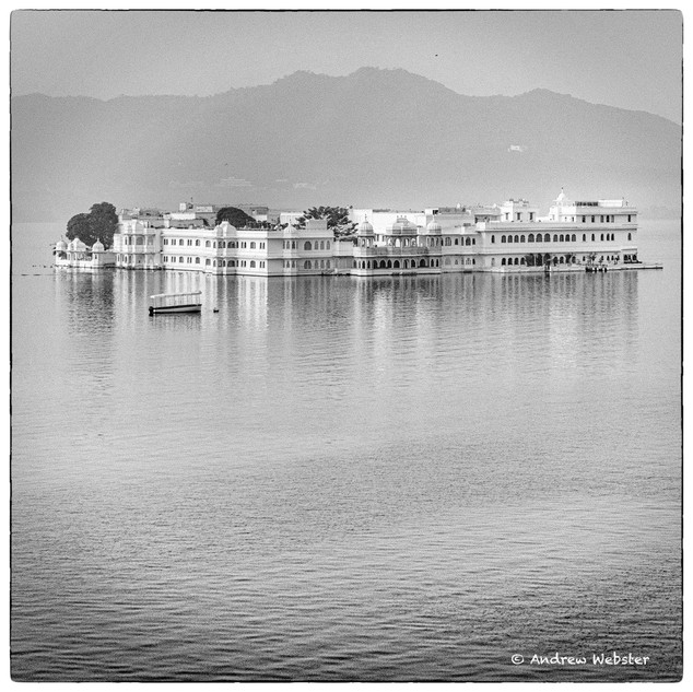 Udaipur Taj at Dawn