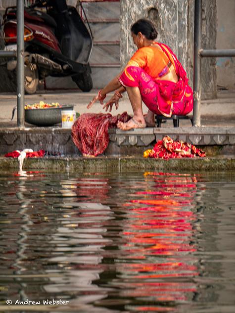Washing at Udaipur