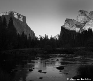 Merced River, Yosemite Valley, California