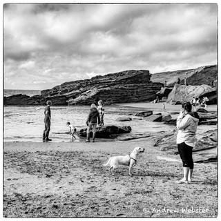 Trebarwith Beach