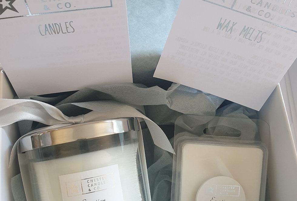 Candle & Melt Gift Set