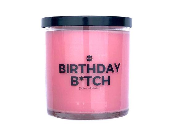 BIRTHDAY B*TCH candle