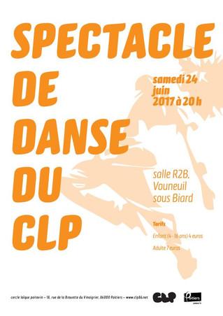 Spectacle de danse du CLP