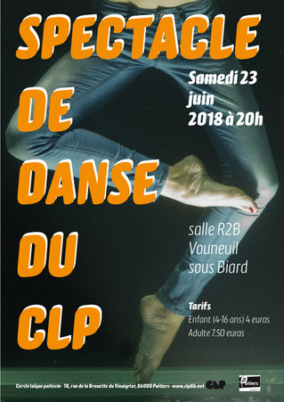 Spectacle de danse du CLP - samedi 23 juin 2018