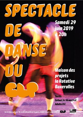 Gala de danse le 29 juin 2019