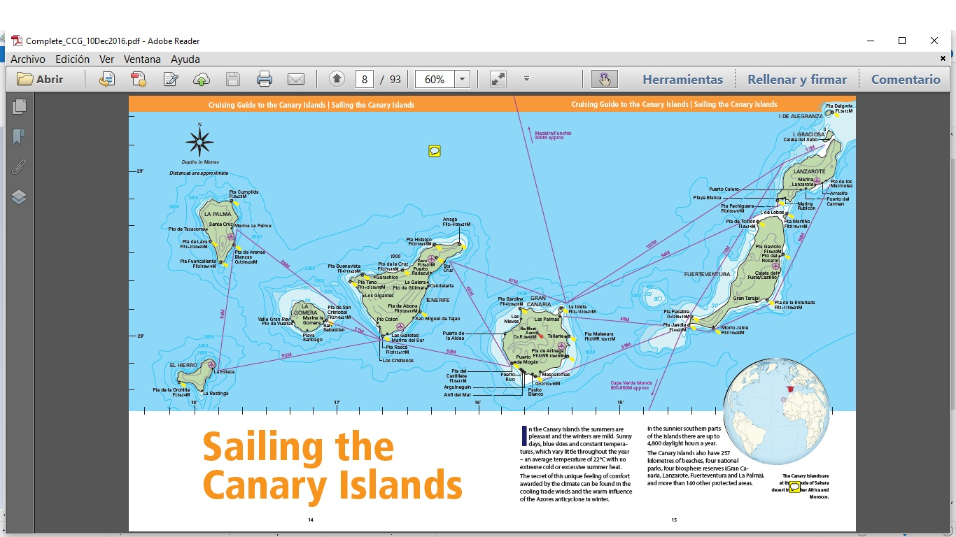 Sailing the Canary Islands