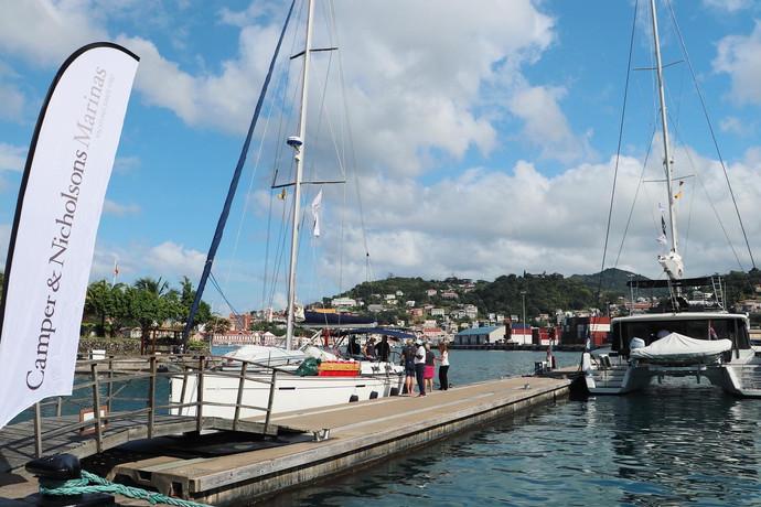 Quarantine dock at Port Louis Marina