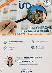 agent immobilier Iad France Virginie Menguy-Serrao