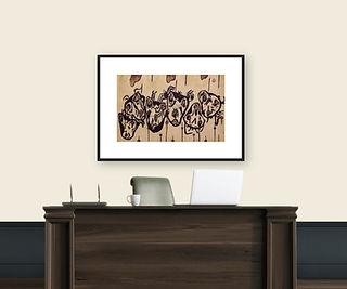 my monsters framed office.JPG