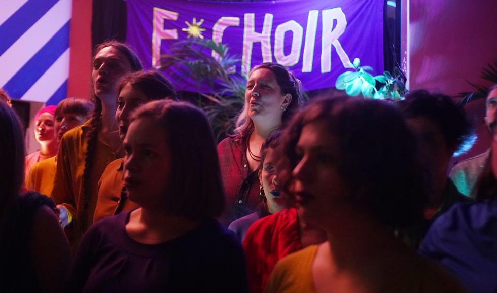 F* Choir and Friends - Earth Hackney, 2020
