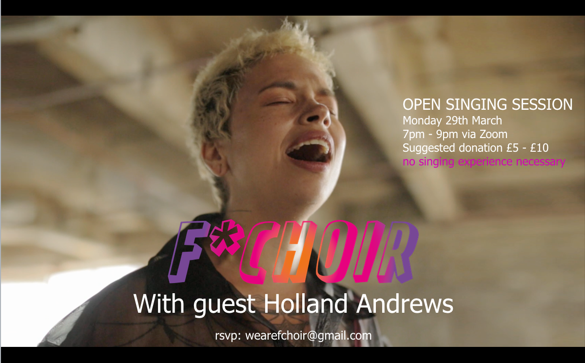 Open session #3 with Holland Andrews