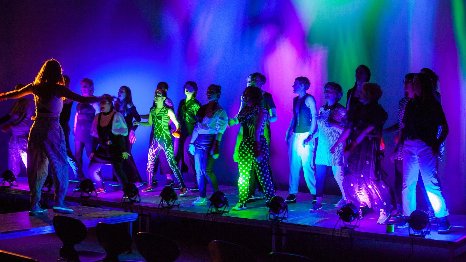 Not Dancing, Fighting - Borealis Festival, 2020