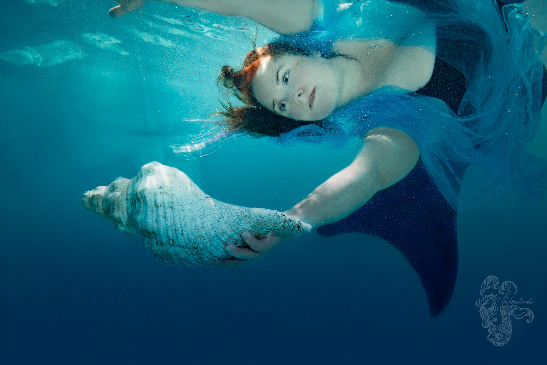Underwater Pool Portrait