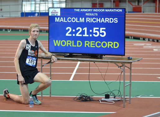 Taking Back the Indoor Marathon World Record