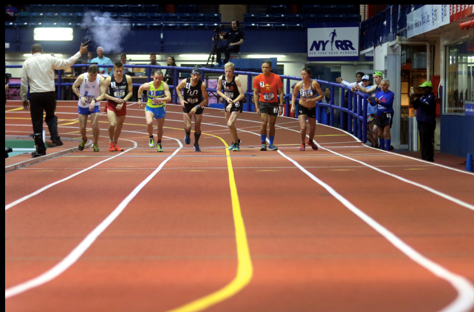 Indoor Marathon Start
