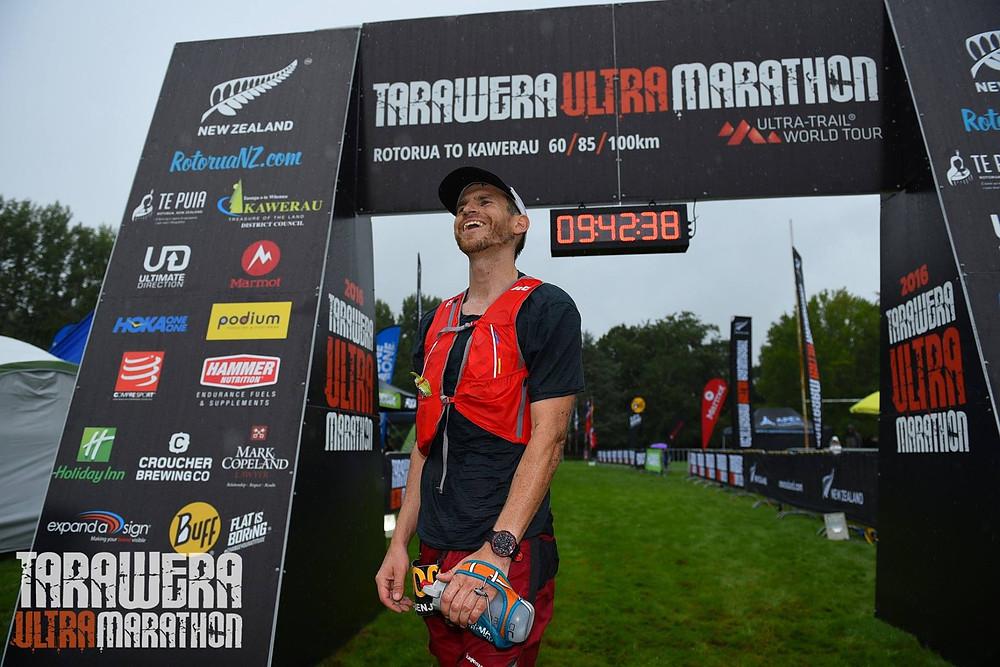 Ben 7th at Tarawera Ultra Marathon