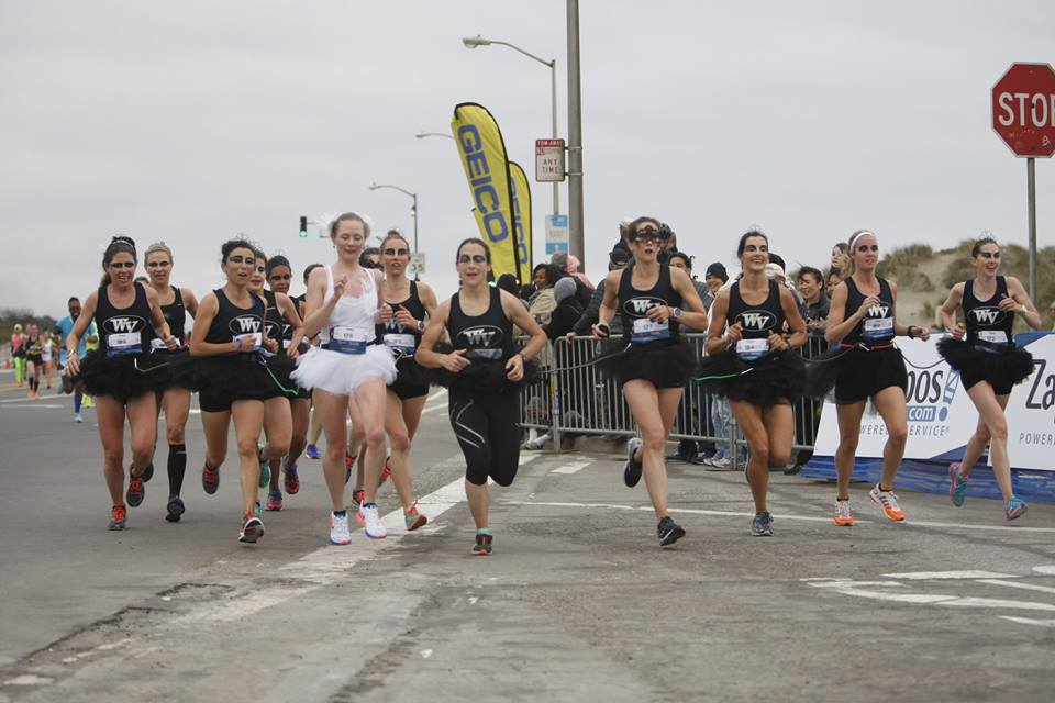 Women's Team Finishing