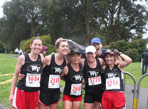 WVTC braves rain, wind, and cold at Kaiser Permanente Half