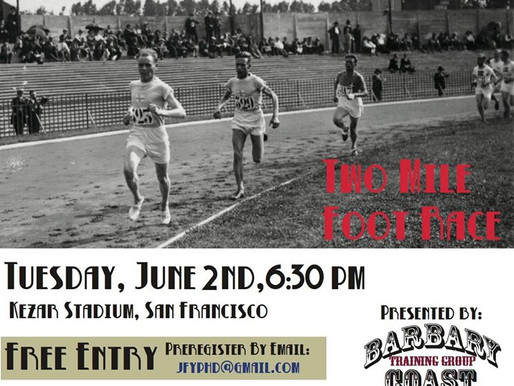 THIRD ANNUAL PAAVO NURMI 2 Mile