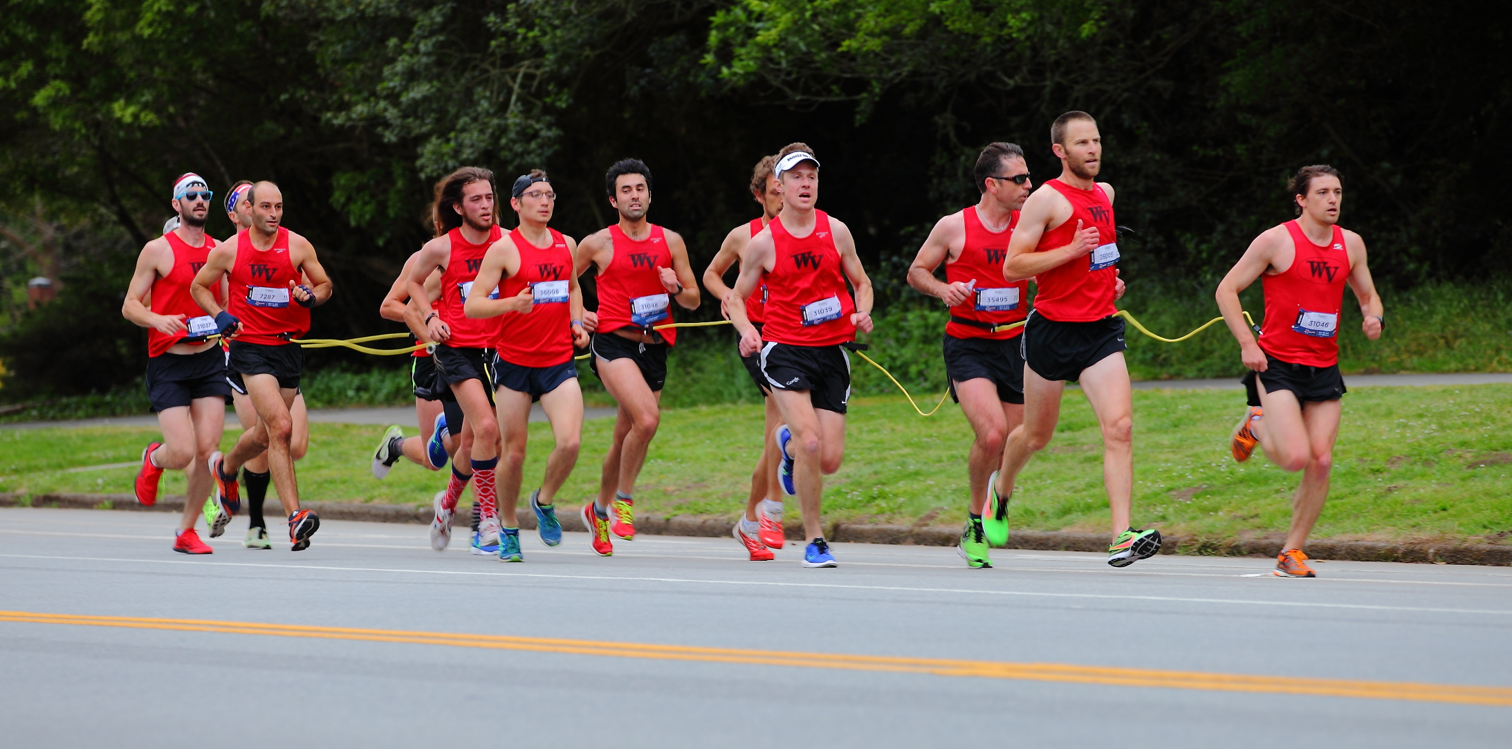 Men's Centipede Lead by The Rookie