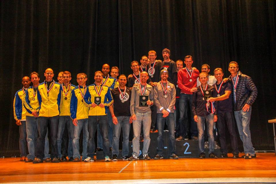 Silver Medals to WVTC Master's Men