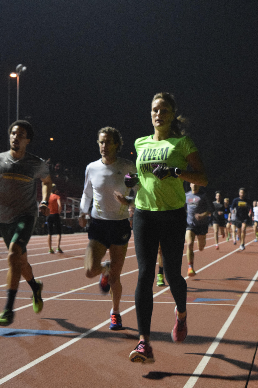 West Valley TC Kezar Track Workout