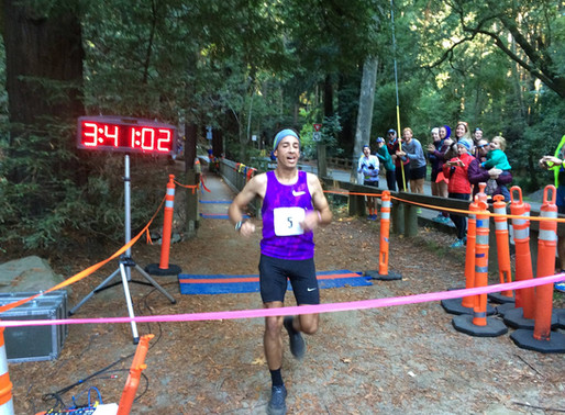 Alex Varner Conquers Quad Dipsea with a New Course Record!