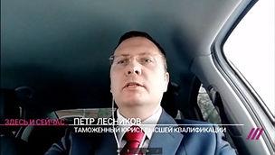 Интервью Телеканал Дождь Лесников и Парт