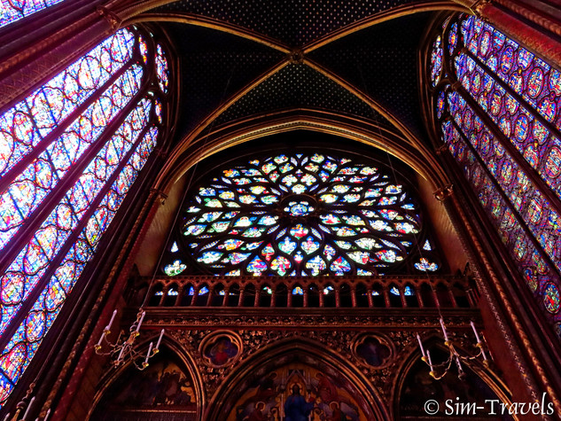 Inside Sainte Chapelle