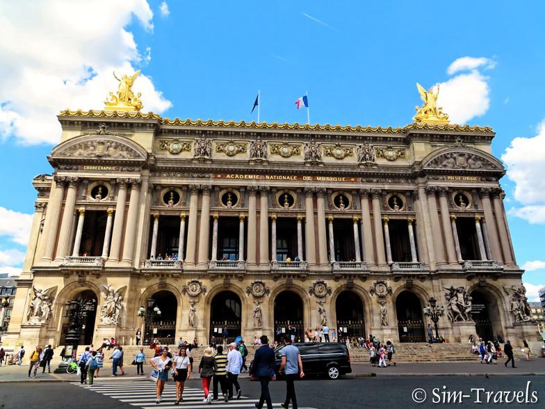 Paris Music Academy (aka opera house)