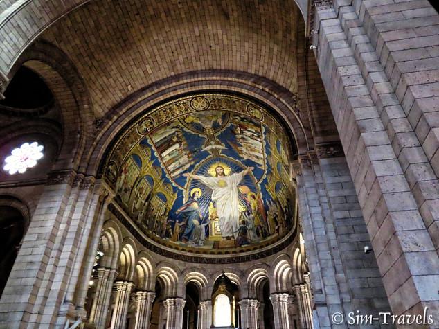 Inside Sacre Coeur