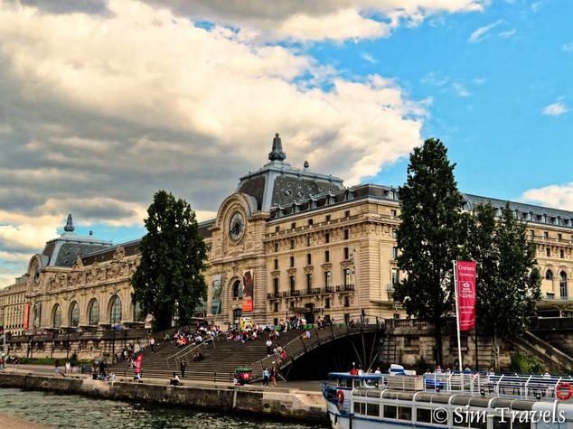 Sienne views of Musee D'Orsay