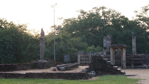Ruins at Sacred Quadrangle