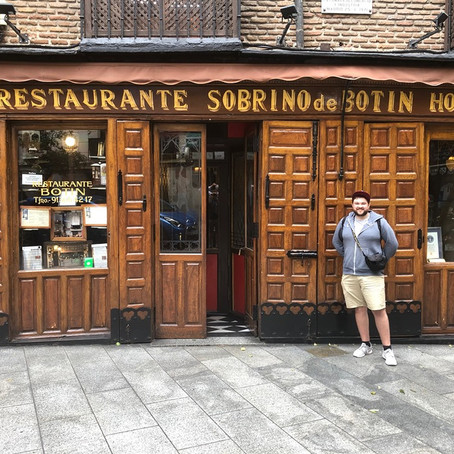 Where to eat in Madrid? – The oldest restaurant in the world?