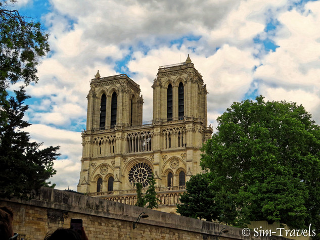 Notre Dame from the River Sienne