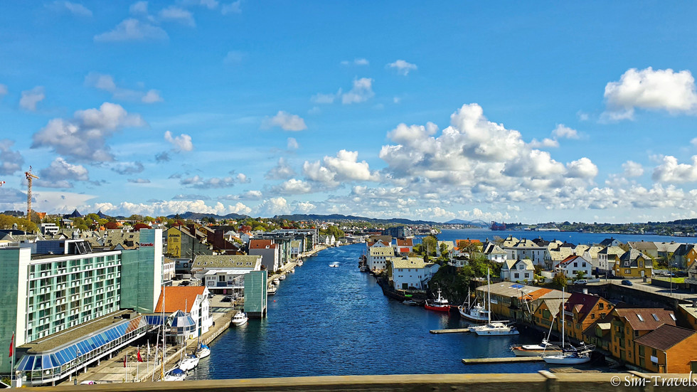Near the harbour of Haugesund