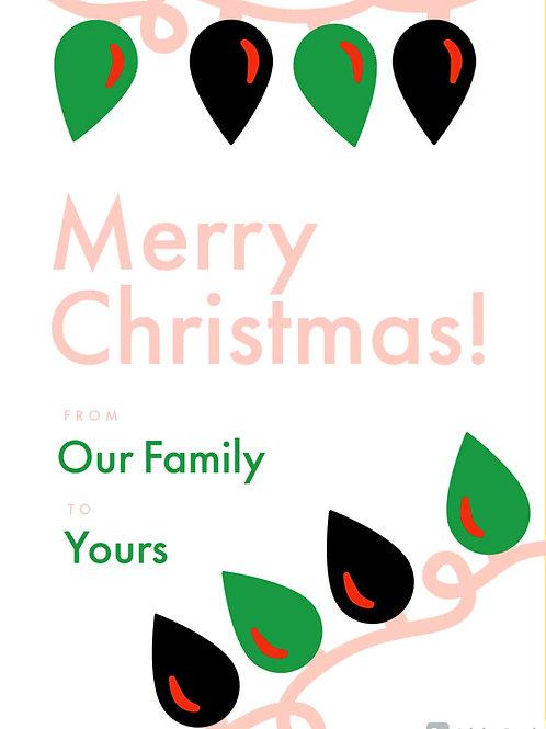 Merry Christmas (Blinking)