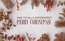 Christmas: Heartfelt thank you letter