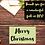 Thumbnail: Merry Christmas Thank You Letter
