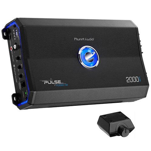 Planet Audio 2000W Class A/B Monoblock Car Audio Stereo Amplifier PL2000.1M