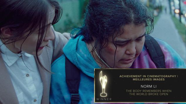 Achievement in Cinematography | Meilleur