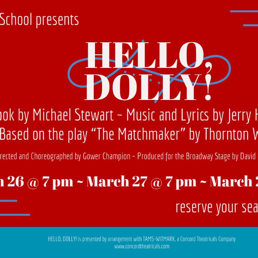 Hello Dolly! Sunday Matinee