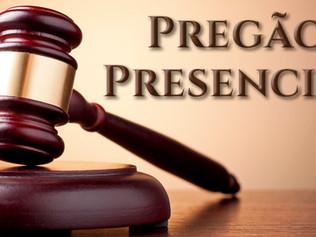 AVISO DE EDITAL PREGÃO PRESENCIAL Nº 005/2019 - SRP - SISTEMA DE REGISTRO DE PREÇOS PROCESSO ADMINIS