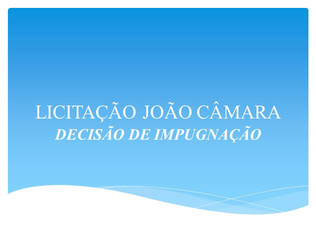 DECISÃO DE IMPUGNAÇÃO - PP 011.2019